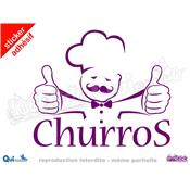 Sticker Churros CHEF (ref1)
