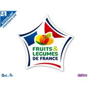 Autocollant FRUITS ET LEGUMES DE FRANCE