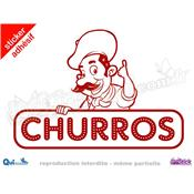 Sticker Churros CHEF (ref2)